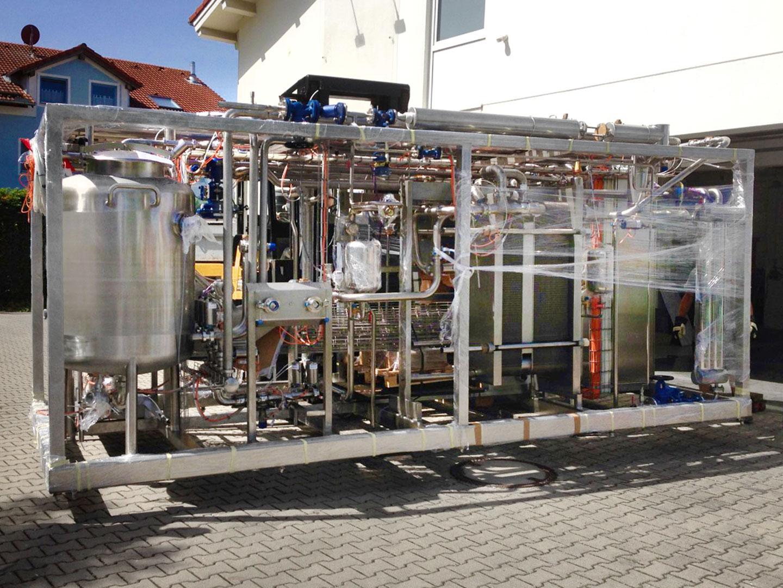 Brautechnik GmbH Modulare Anlage fuer Feinkostsaucen